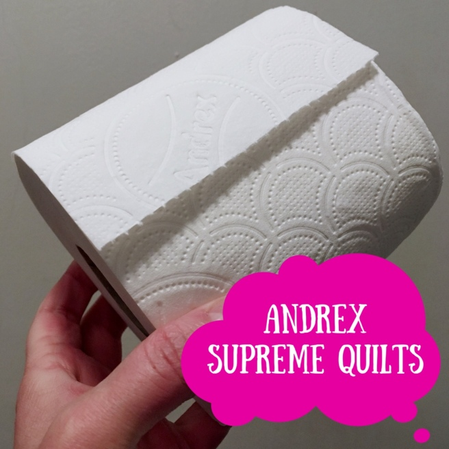 When you have Crohn's Disease, having a good toilet roll is a big deal. Bridget Crohns has set herself a quest to find the ultimate loo roll based on price, softness, durability and flush ability - this time, Andrex Supreme Quilts